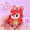 Thumbnail: Celeste animal Crossing keychain