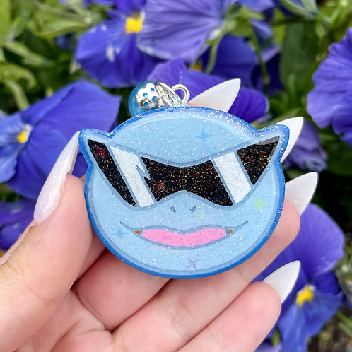 Squirtle Squad keychain / grip / pin