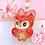 Thumbnail: Celeste animal Crossing keychain