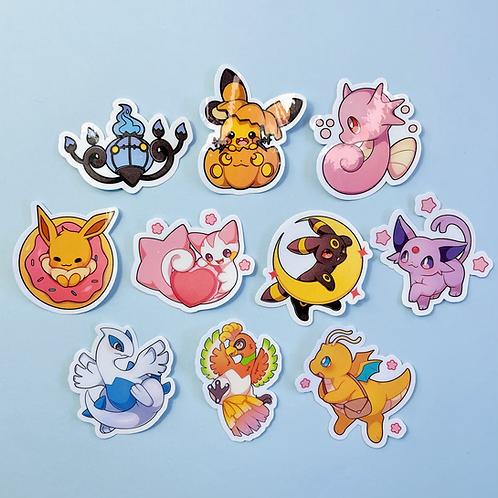 Pokemon stickers - part 2