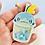 Thumbnail: Sobble bubble tea keychain