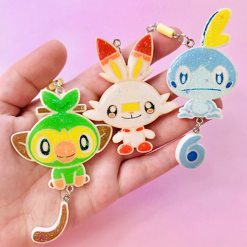 Pokémon Sword and Shield starters