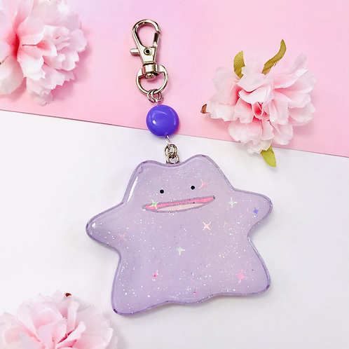 Ditto keychain / phone grip - Pre order