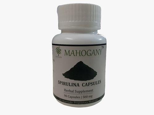 Mahogany Spirulina Capsules
