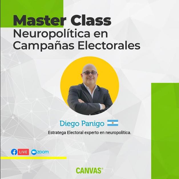 2020 - CANVA Master Class - Neuropolitica en Campañas Electorales