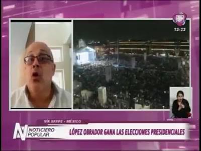 2018 - Elecciones México - Noticiero Popular Canal 4 Bolivia