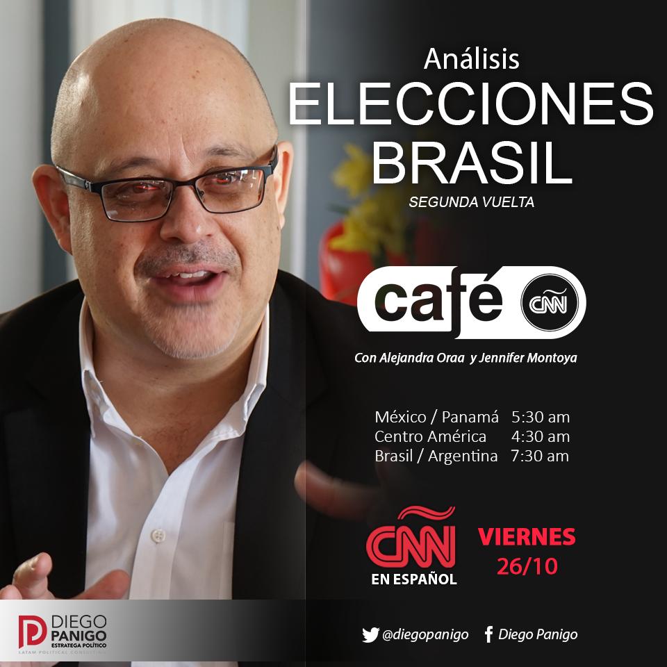 Arte Diego Panigo en Cafe CNN Octubre 20