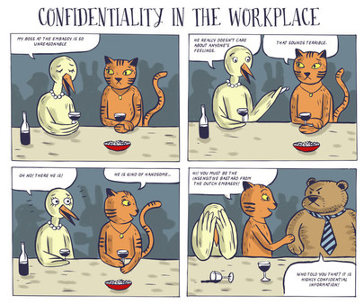 Dutch Embassy comics