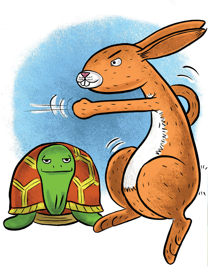 Tortoise and Hare 03