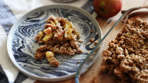 How to bake an apple crumble