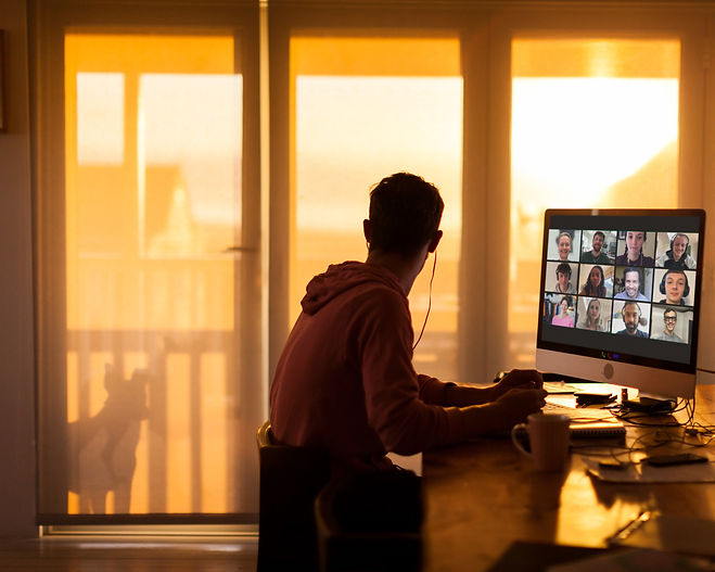 Zoom Meeting at Sunrise