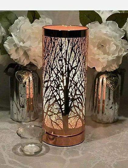 White Gold tree Plug in Aroma Lamp