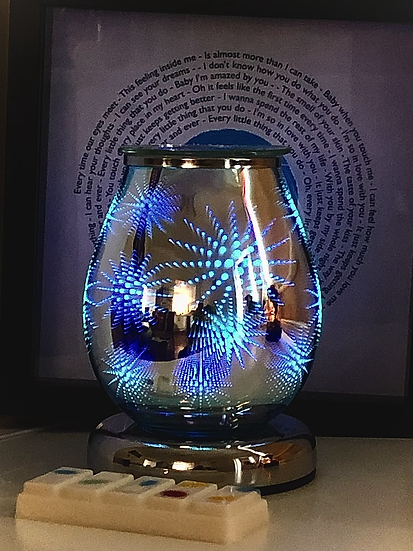 Colour changing Firework lamp