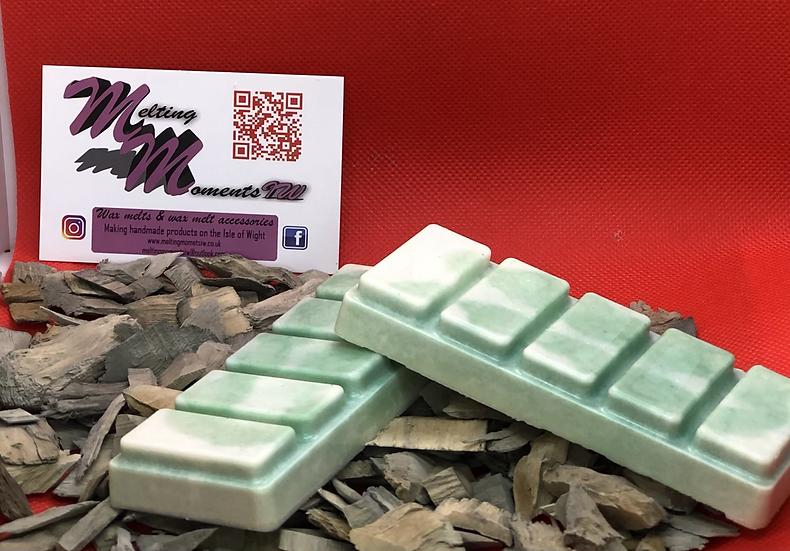Peppermint wax Melt Snap Bar
