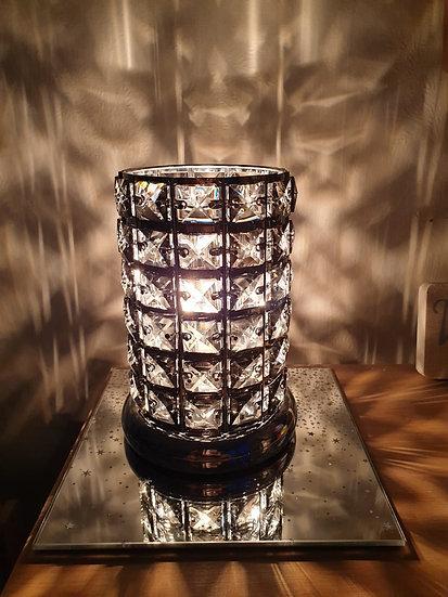Grey crystal Plug in Aroma Lamp