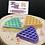 Thumbnail: Heart waffle wax melt