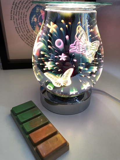 Butterflies Plug in Aroma Lamp