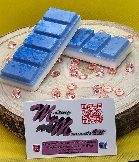 Blueberry and Vanilla Wax Melt Snap Bar