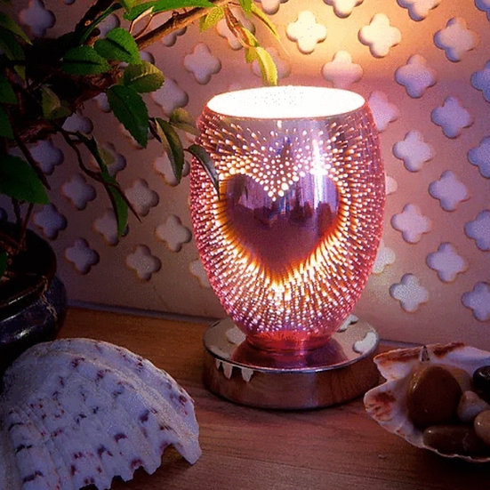 Heart Plug in Aroma Lamp