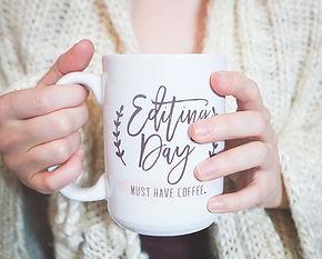 coffee editing day