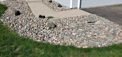 2 Inch River Rock with Boulders