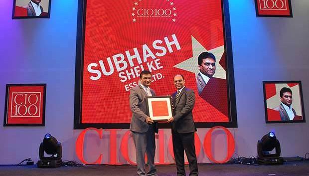 The Transformative 100: Subhash Shelke, VP of Essar receives the CIO100 Award for 2016