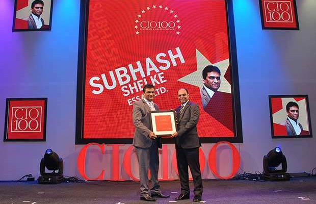 The Transformative 100: Subhash Shelke, VP of Essar receives the CIO100 Award for 2016