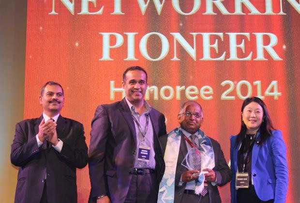 Networking Pioneer: G S Rao, CIO of KSK Energy Ventures receives the CIO100 Special Award for 2014, constituted in association with Juniper Networks