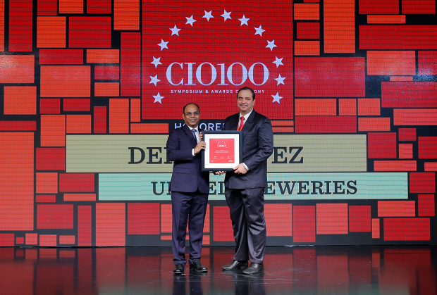 The Digital Architect: Derek Lopez, GM– IT at United Breweries receives the CIO100 Award for 2018