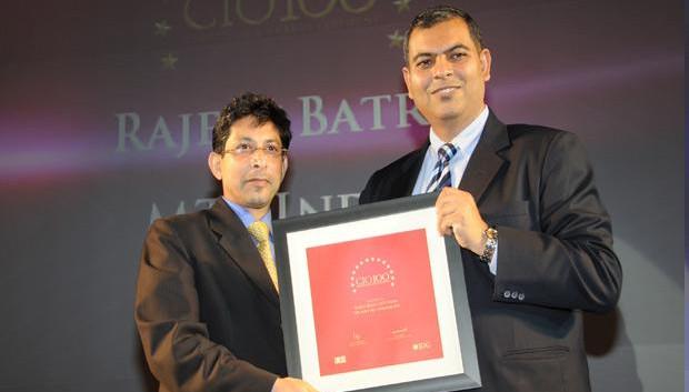 The Agile 100: Rajeev Batra, CIO of Sistema Shyam Teleservices receives the CIO100 Award for 2010