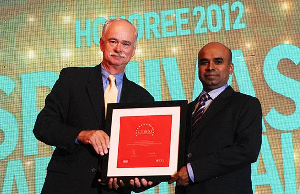The Resilient 100: Srinivas N, Vice President- IT of Novo Nordisk India receives the CIO100 Award for 2012