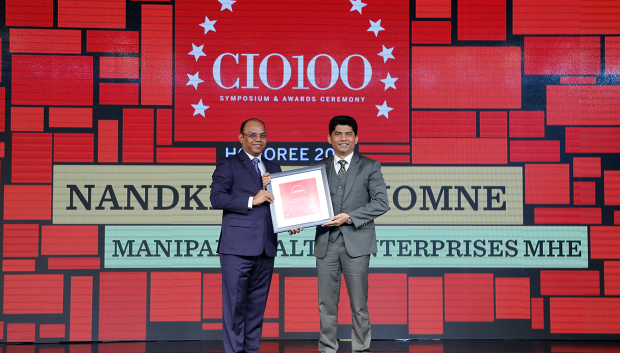 The Digital Architect: Nandkishor Dhomne, VP– IT & CIO, Manipal Health Enterprises, receives the CIO100 award for 2018