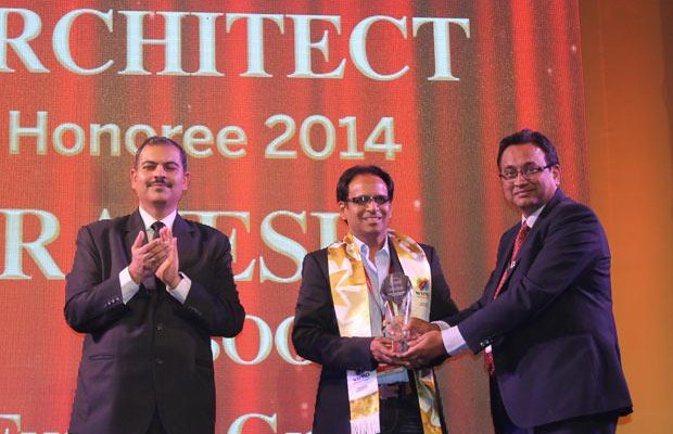 Innovation Architect: Rajesh Saboo, Head IT, Future Group receives the CIO100 Special Award for 2014 , constituted in association with Wipro