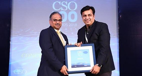 Rishi Rajpal, CISO, Concentrix Corporation receives the CSO100 Award for 2018