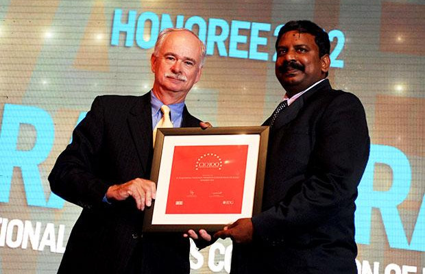 The Resilient 100: N Rajendran, CTO of National Payments Corporation of India receives the CIO100 Award for 2012