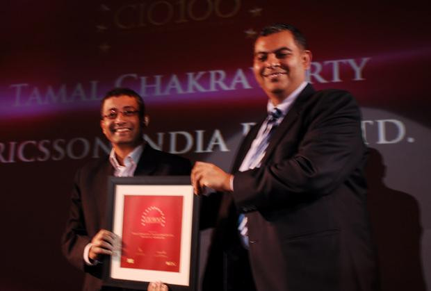 The Agile 100: Tamal Chakravorty, Director-IT, Ericsson India receives the CIO100 Award for 2010