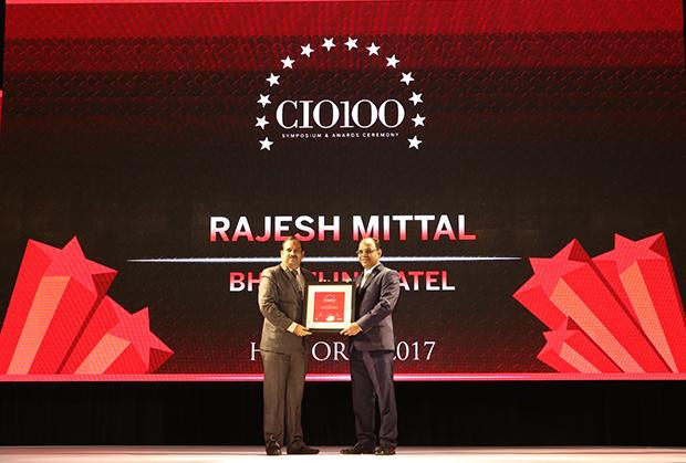 The Digital Innovator: Rajesh Mittal, Head-Operation IT Infrastructure, Bharathi Infratel receives CIO100 Award for 2017