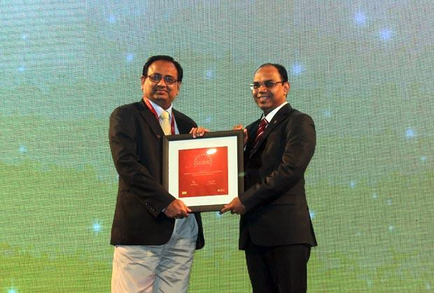 The Dynamic 100: Sanjeev Kumar, Group CIO and Group President-Business Excell of Adhunik Group of Industries receives the CIO100 Award for 2014