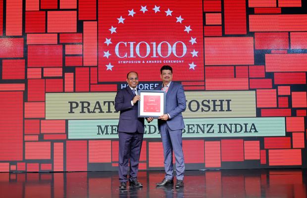The Digital Architect: Pratap Pat Joshi, CIO, Mercedes Benz India, receives the CIO100 award for 2018