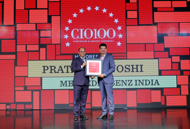 The Digital Architect: Pratap Pat Joshi, CIO, Mercedes Benz India, receives the CIO100 award for 2018