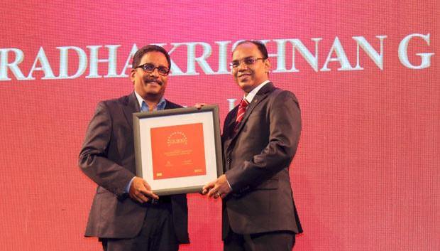 The Dynamic 100: Radha Krishnan Menon, IT Head of Biocon receives the CIO100 Award for 2014
