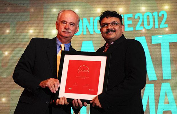 The Resilient 100: Rajat Sharma, President-IT of Atul receives the CIO100 Award for 2012