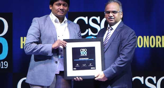 Hariharan Subramani, CISO, Advisory – Cybersecurity and Risk at Syngene International receives the CSO100 Award for 2019