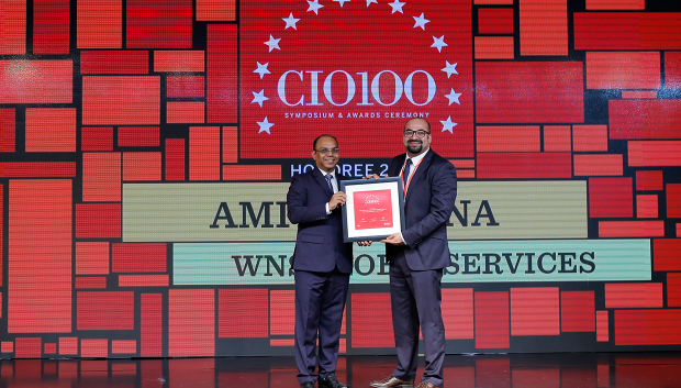 The Digital Architect: Amit Khanna, CIO at WNS Global Services receives the CIO100 Award for 2018