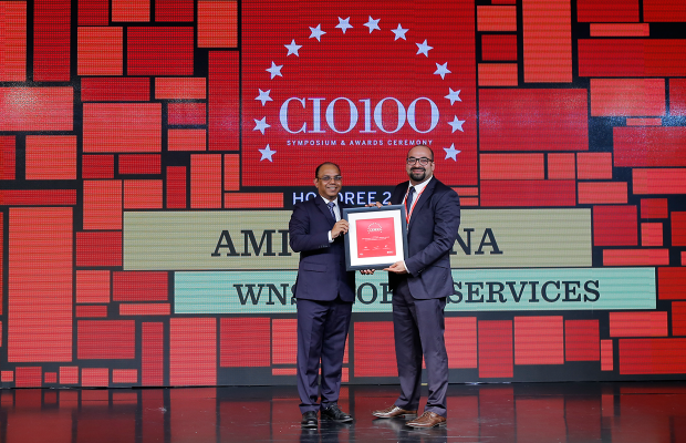 The Digital Architect: Amit Khanna, CIO at WNS Global Services receives the CIO100 Award for 2018