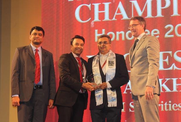 Business Assurance Champion: Yagnesh Parikh, EVP and CTO at ICICI Securities receives the CIO100 Special Award for 2014, constituted in association with Blue Coat