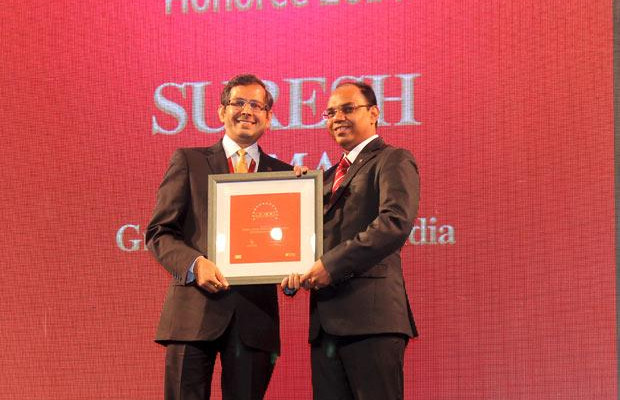 The Dynamic 100: Suresh Kumar, CIO- Granth Thorton India receives the CIO100 Award for 2014