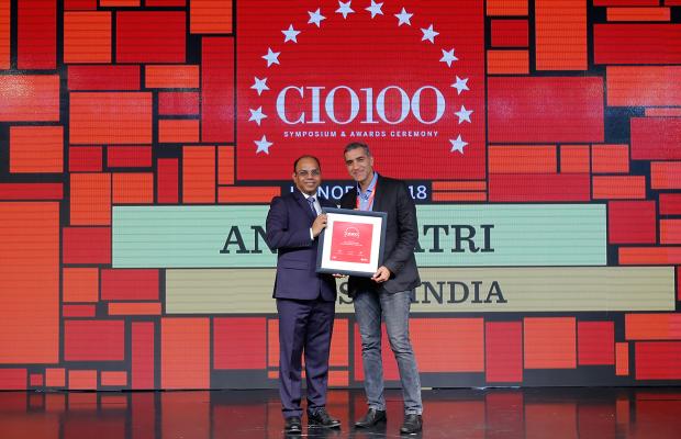 The Digital Architect: Anil Khatri, Head IT-SAP South Asia receives the CIO100 Award for 2018