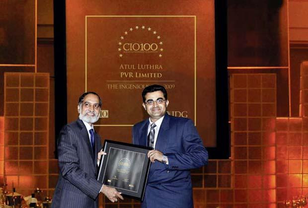 The Ingenious 100: Atul Luthra, Vice President - IT of Matrix Cellular International receives the CIO100 Award for 2009