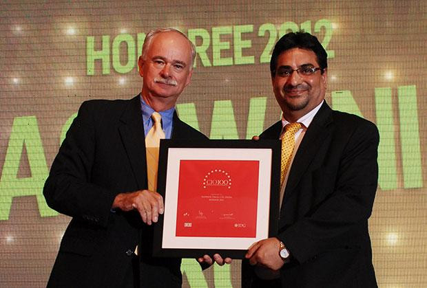 The Resilient 100: Ashwani Tikoo, CIO of Computer Sciences Corporation India receives the CIO100 Award for 2012